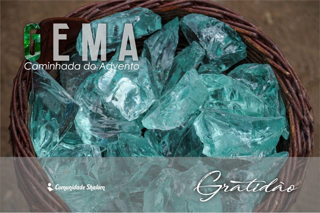 1º Domingo do Advento - Gratidão