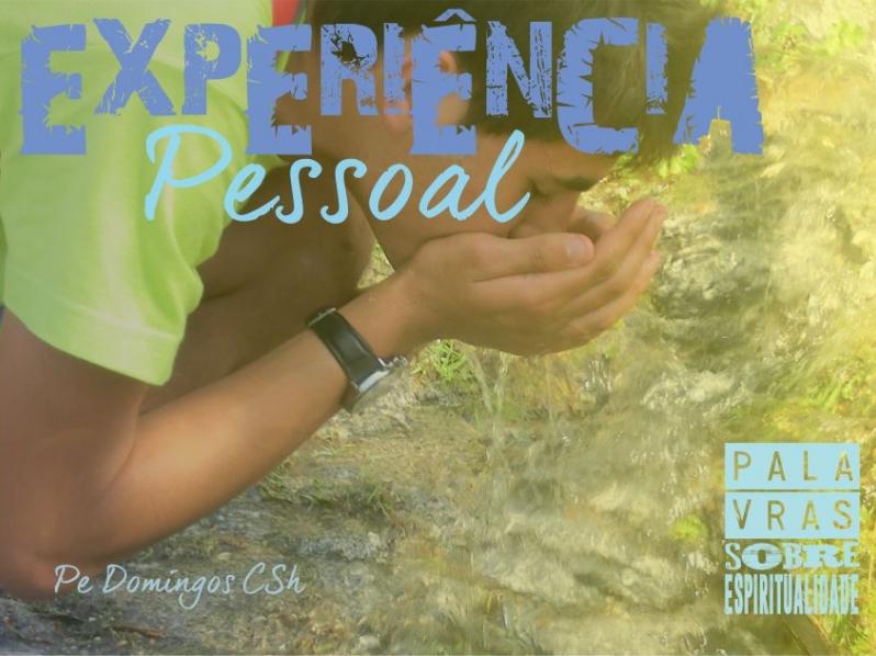Espiritualidade como Experiência Pessoal